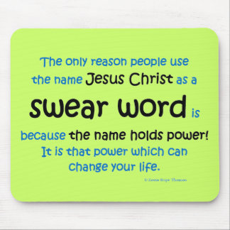 swear word mouse pad