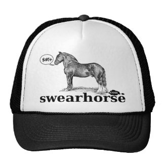 swearhorse.com logo shirts - get one for everybody trucker hat