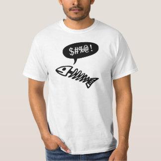 Swearing Fish - Funny Dead Fish T-Shirt