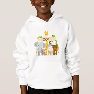 Sweat A Hood Boy Animals Hoodie