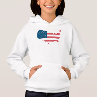 Sweat A Hood Girl the USA Hoodie