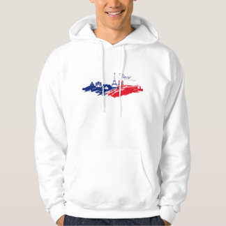 Sweat A Hood White Man BASIC Paris Hoodie
