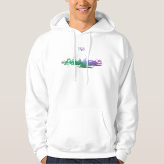 Sweat A Hood White Man Paris Hoodie