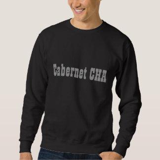 Sweat Cabernet CHA Noir Classic Gris Pullover Sweatshirt