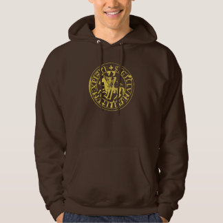 sweat chocolate seal of the temple hoodie
