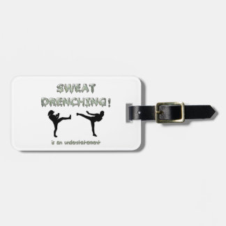 Sweat Drenching Kickboxing! is an understatement Luggage Tag