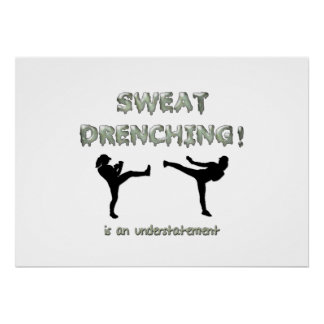 Sweat Drenching Kickboxing! is an understatement Poster
