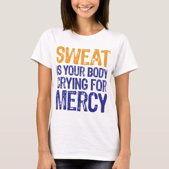 Sweat Mercy Orange Blue T-Shirt