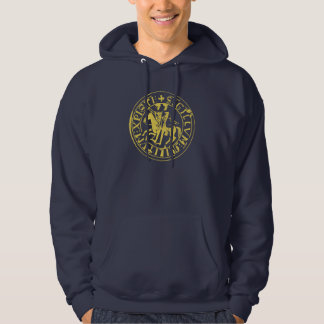 Sweat Navy Seal of the Temple Hoodie