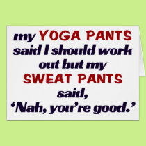 Sweat pant beat Yoga pants.t Card