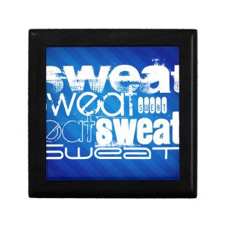Sweat; Royal Blue Stripes Gift Box
