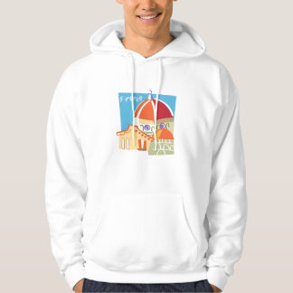 Sweat Shirt: Illustration of Florence Italy Hoodie