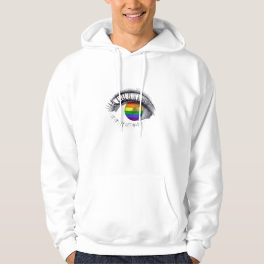 Sweat Shirt Rainbow Eye
