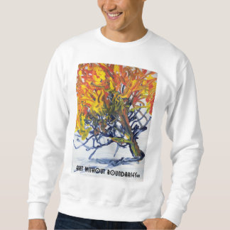 Sweat shirt: The Burning Bush by Clarence Sweatshirt