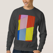 Sweat Shirt with Architecture Design