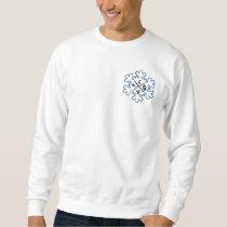Sweat white flake Christmas Sweatshirt