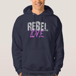 Sweat with basic hood REBEL COILS Sweatshirt