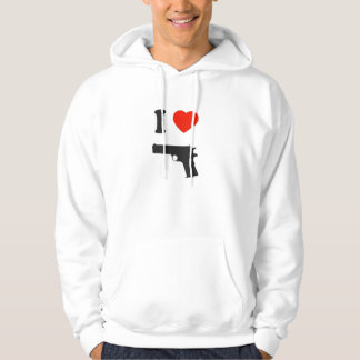 Sweat with hood I coils gun Sweatshirt