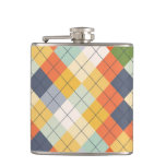 Sweater Background 2 Hip Flask