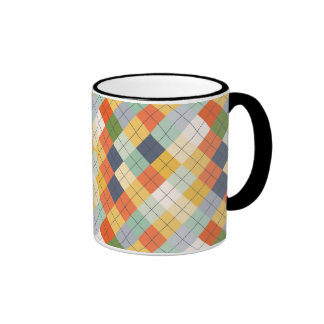 Sweater Background 2 Ringer Coffee Mug