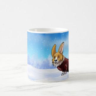sweater corgi 2 coffee mug