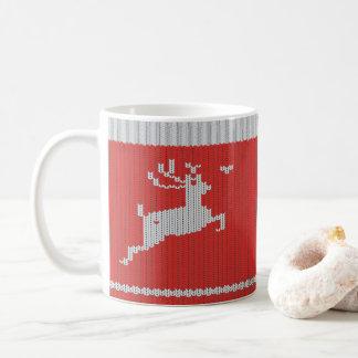 Sweater Deer for Christmas Coffee Mug
