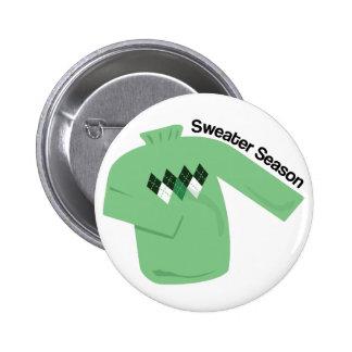 Sweater Season Button