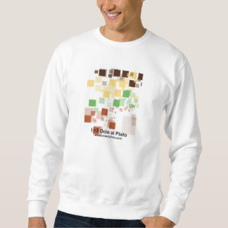 "Sweater shirt man long sleeve ""Pixels """