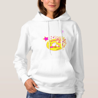 Sweater shirt with hood. IF ENCOUNTER MY WAY DOES