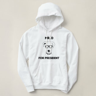 Sweater shirt with hood new presidential candidate