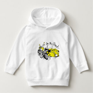 Sweater shirt with young hood