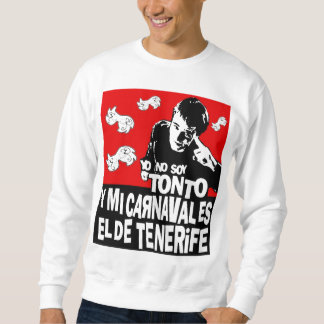Sweater shirt without hood Carnival of Tenerife