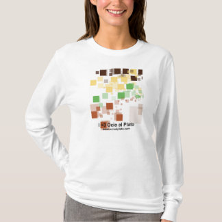 "Sweater shirt woman long sleeve ""Pixels """