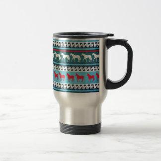 Sweater Unicorn Travel Mug