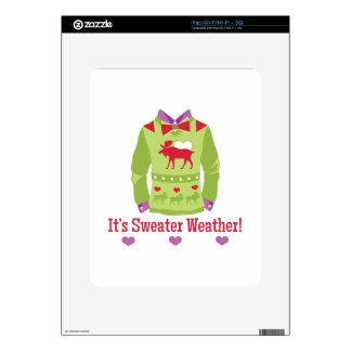 Sweater Weather Skins For The iPad