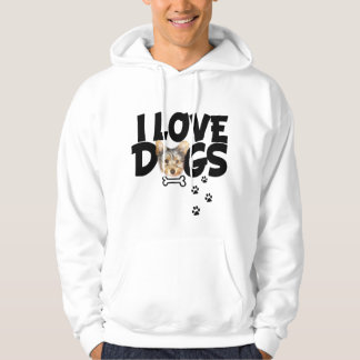 SWEATERS men I love dogs