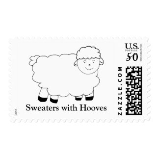 Sweaters With Hooves Postage
