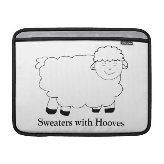 Sweaters With Hooves Sleeve For MacBook Air