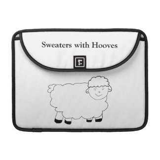 Sweaters With Hooves Sleeve For MacBook Pro