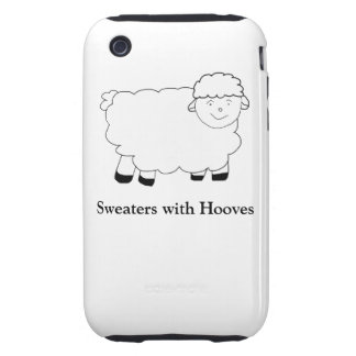 Sweaters With Hooves Tough iPhone 3 Case