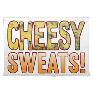 Sweats Blue Cheesy Placemat