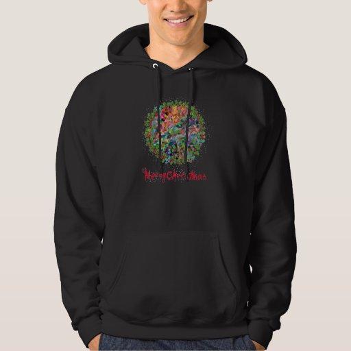 Sweatshirt de la sudadera con capucha del CONFETI