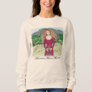 Sweatshirt for Mountain Mama Madness in Natural