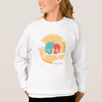 Sweatshirt Girl Animals