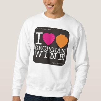 "Sweatshirt  ""I Love Georgian Wine"""