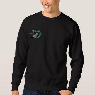 Sweatshirt in black