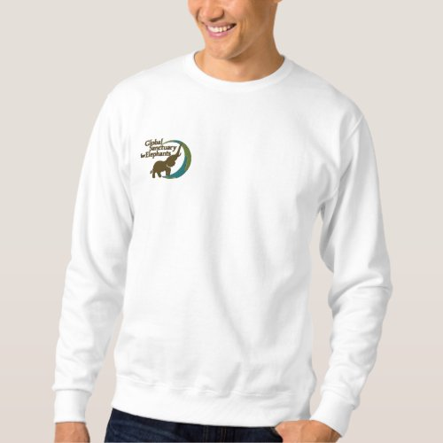 Sweatshirt in white