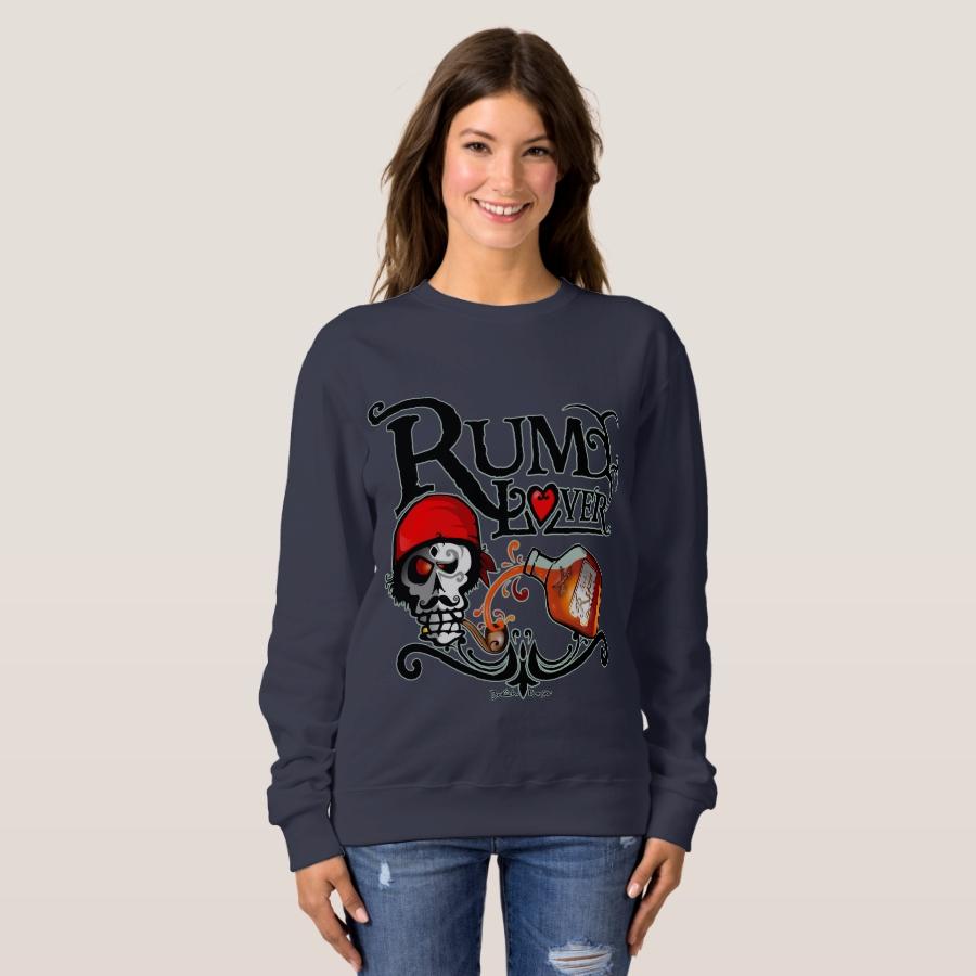Sweatshirt Rum lover - Creative Long-Sleeve Fashion Shirt Designs