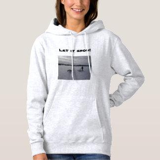 Sweatshirt Siberian Husky Mushing Dogsled