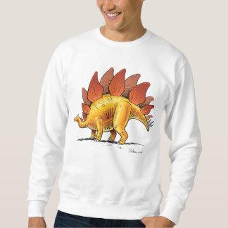 Sweatshirt Stegosaurus Cartoon Dinosaur